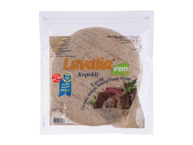 Irem Lavalia Whole Wheat 6 Pack (Kepekli Lavas 25cm) 420Gr
