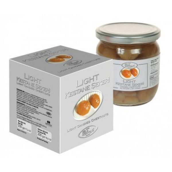 Kafkas Light Candied Chestnut (Kestane Sekeri) 500g