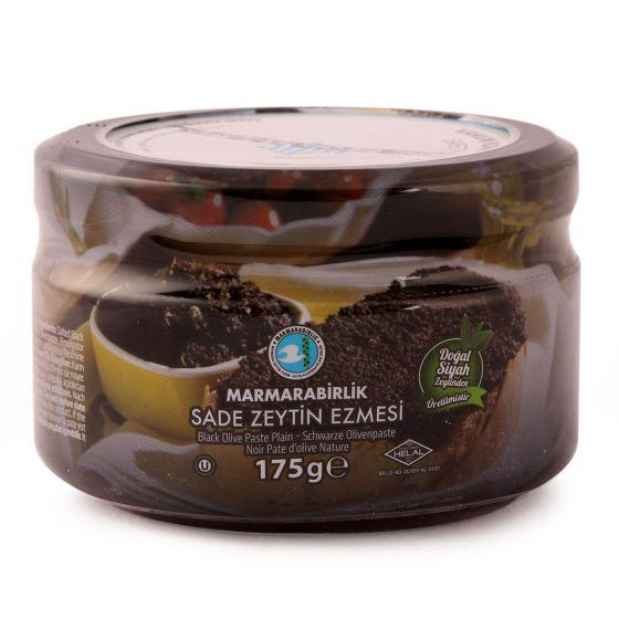 Mb Black Olive Paste 175gr Glass