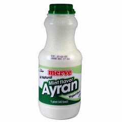Merve Yogurt Drink Mint Flavored 1lb (Naneli Ayran )