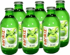 Sarikiz Sparkling Apple Lemon Flavored x 6Pack (Elmali Soda) 0.55lb