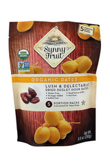 Sunny Fruit ORGANIC Pitted Dried Dates 250G