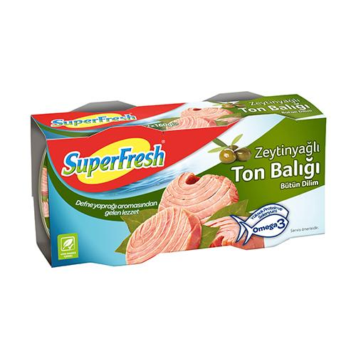 Superfresh Tuna In Olive Oil 2Pack (Zeytinyagli Ton Baligi)