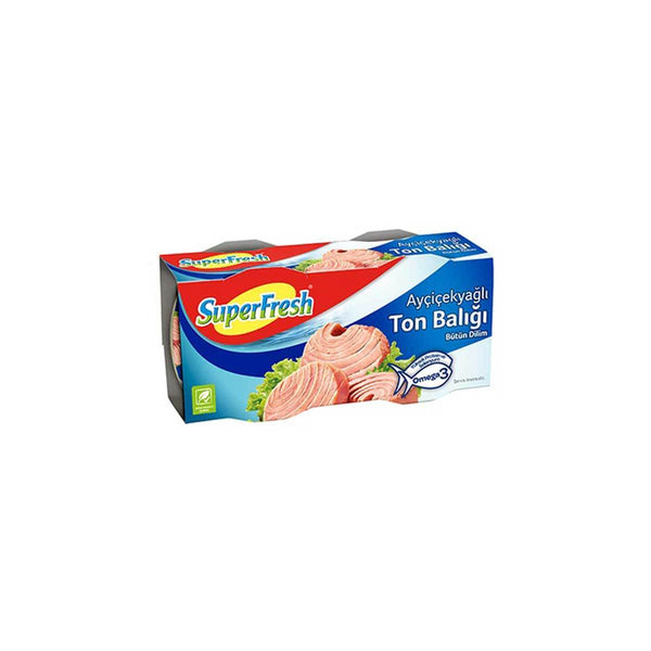 Superfresh Tuna in Sunflower Oil 2Pack (Aycicekyagli Ton Baligi)