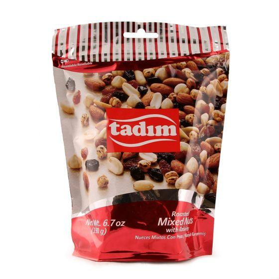 Tadim Roasted Mixed Nuts With Raisins 190g