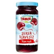Tamek Sour Cherry Preserves No Sugar Added - Diabetic (Visne Receli Seker ilavesiz)10.22Oz