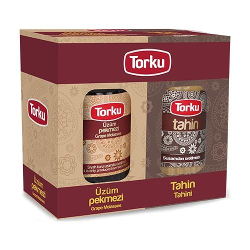 Torku Tahini and Grape Molasses 2Pack (Tahin-Pekmez)