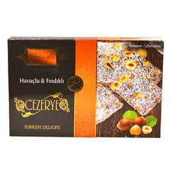 Turkish Delight with Carrot and Nuts (Havuclu Findikli Cezerye) 0.8lb