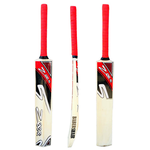 Zeepk Tennis Tape Ball Cricket Bat Hand Made Kashmir Willow Light weight 2 Lbs and 44mm Thick Edge - Zeepk Sports