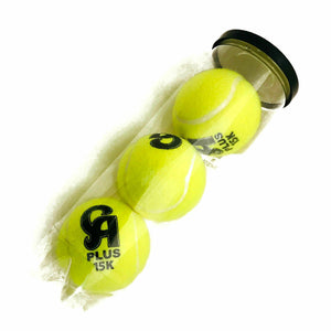 CRICKET BALL CA PLUS 15K PLUS TENNIS SOFT BALL 3 PC + AS SPORTS PLASTIC TAPE 10 PC FOR CRICKET - Zeepk Sports