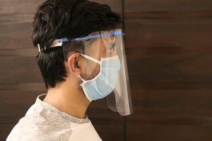Face Shield with 3Ply mask