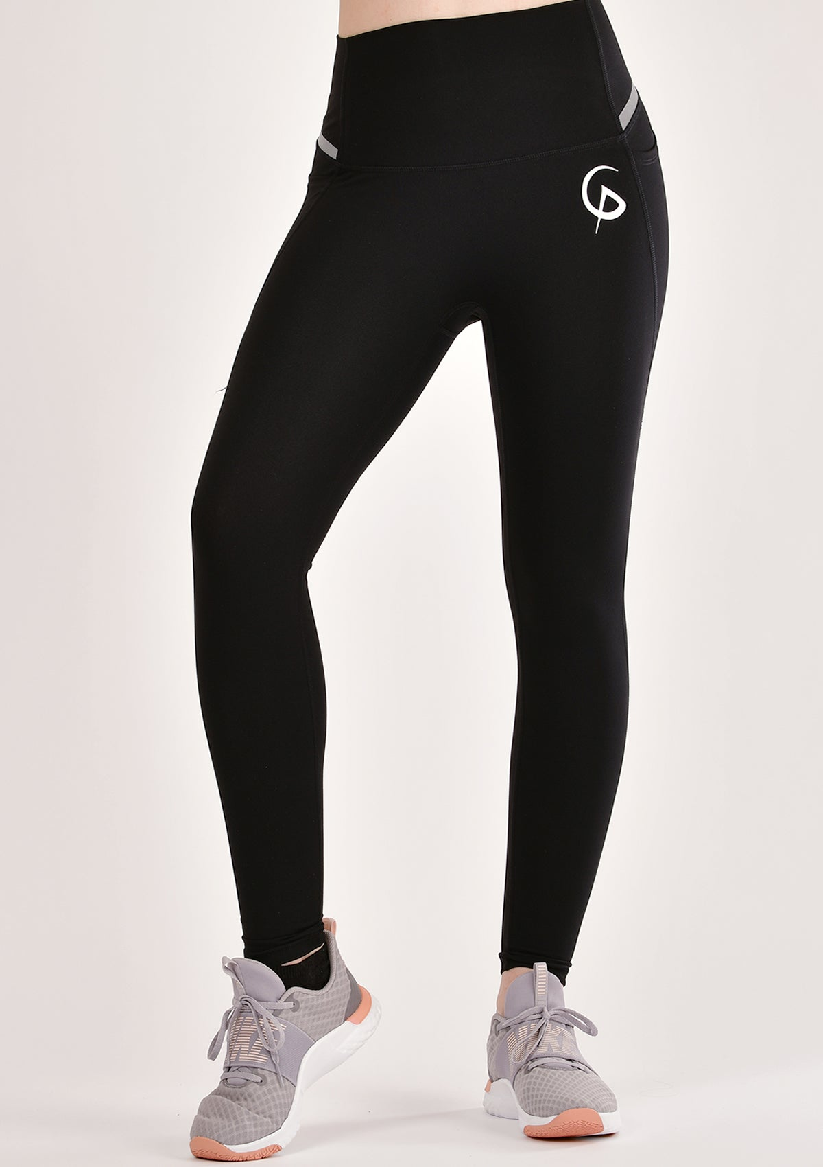 Motive Black Leggings