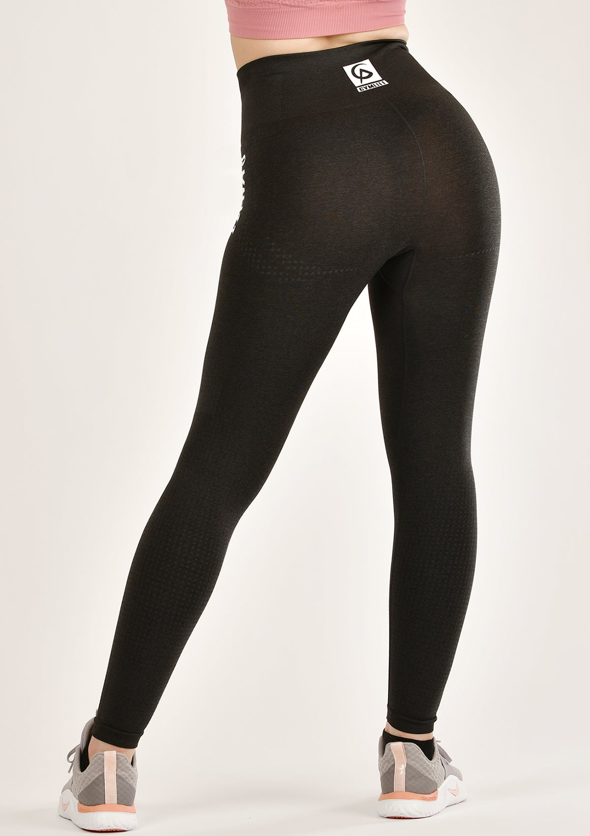 illusive Black Leggings