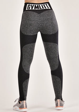 Contour Black Leggings