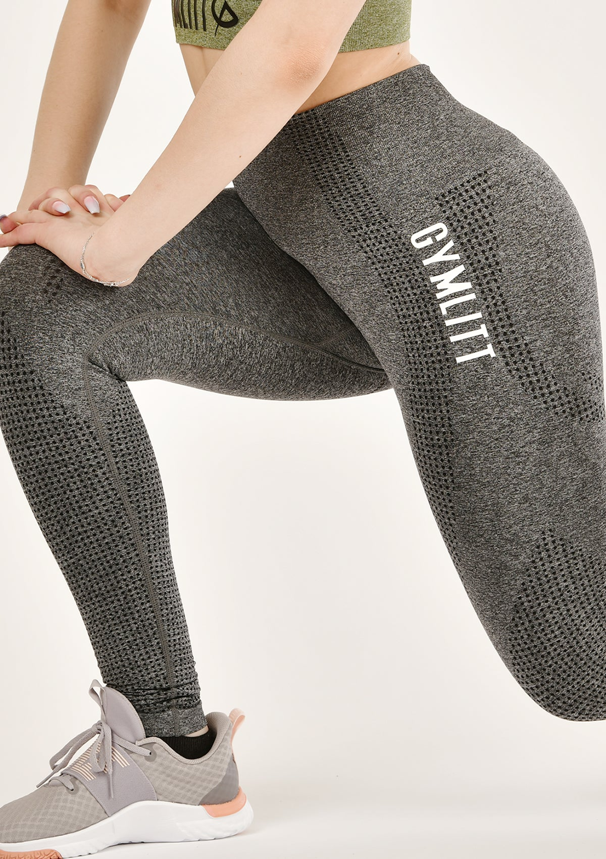 illusive Charcoal Leggings