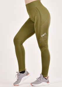 Power Khaki Seamless Leggings