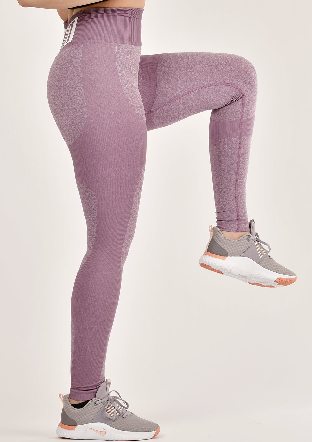 Contour Purple Leggings