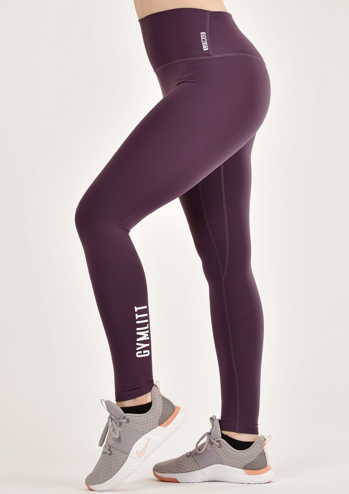 Signature Plum Leggings