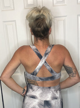 Free As A Feather Sports Bra