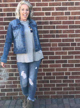 All American Girl Jean Jacket