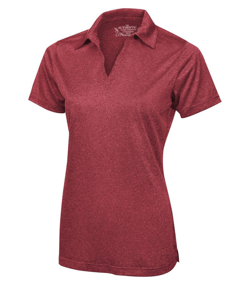 ATC Pro Team Heather Performance Ladies - Cardinal Red