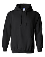 Gildan Heavy Blend  Hooded Black Sweatshirt