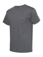 Alstyle Classic Adult Charcoal tee with Pocket