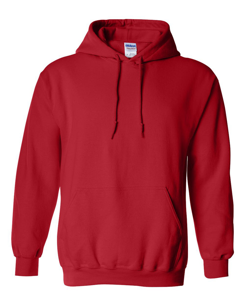 Gildan Heavy Blend Red Hooded Sweatshirt