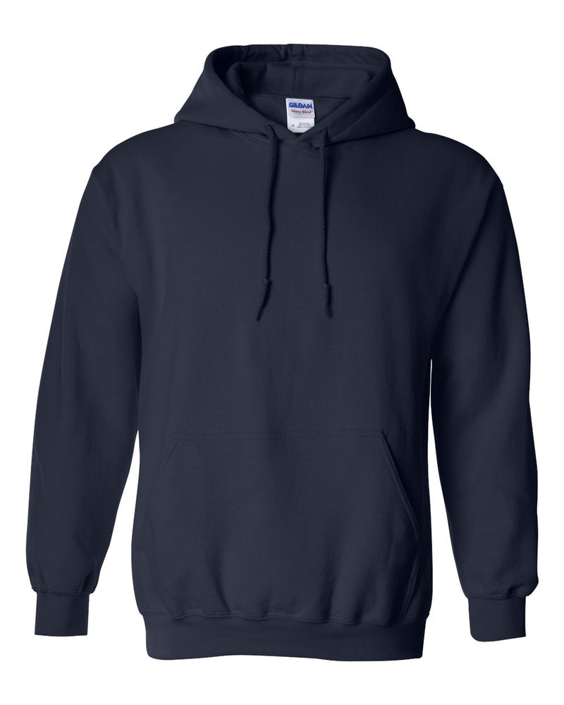 Gildan Heavy Blend  Hooded Navy Sweatshirt