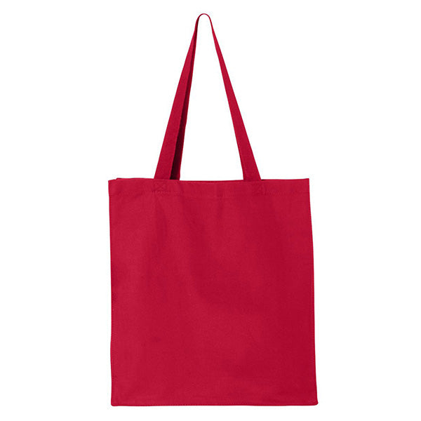 (Red) Shopping Canvas Cotton Bag Q 125300