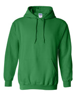 Gildan Heavy Blend  Hooded Green Sweatshirt