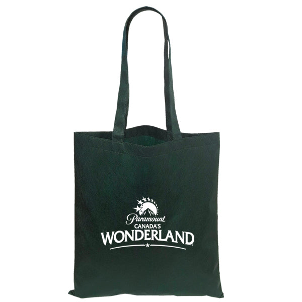 Non Woven Economy Convention Forest Green Tote Bag
