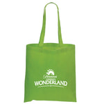 Non Woven Economy Convention Lime Tote Bag