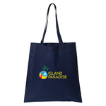Non Woven Economy Convention Navy Tote Bag