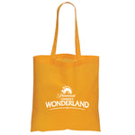 Non Woven Economy Convention Orange Tote Bag