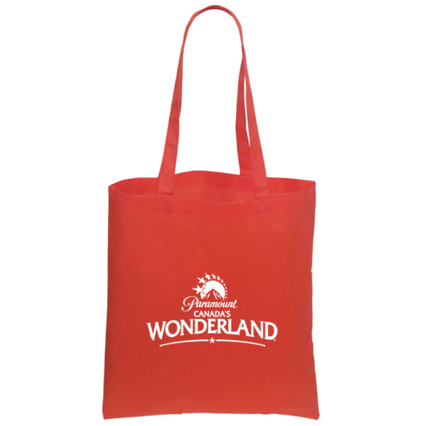 Non Woven Economy Convention Red Tote Bag