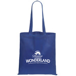 Non Woven Economy Convention Royal Blue Tote Bag