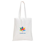 Non Woven Economy Convention White Tote Bag