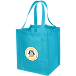 Jumbo Non Woven Shopping Bright Blue Tote Bag