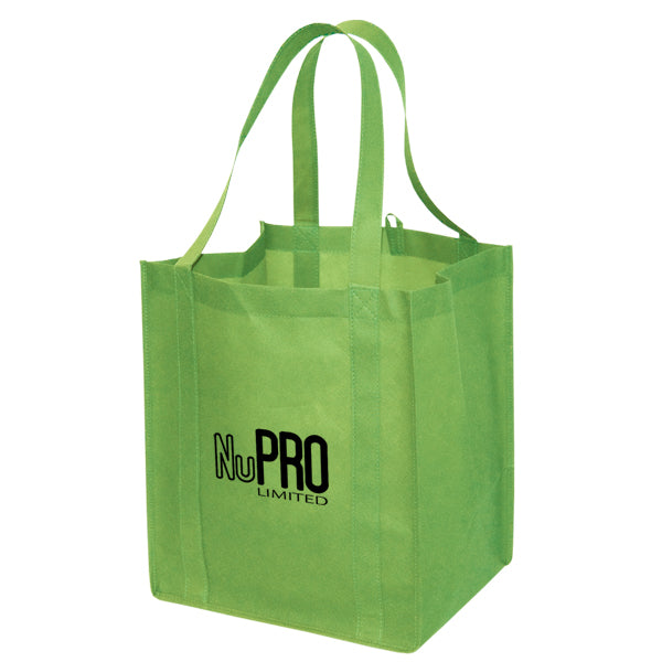 Jumbo Non Woven Shopping Lime Tote Bag