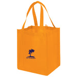 Jumbo Non Woven Shopping Orange Tote Bag