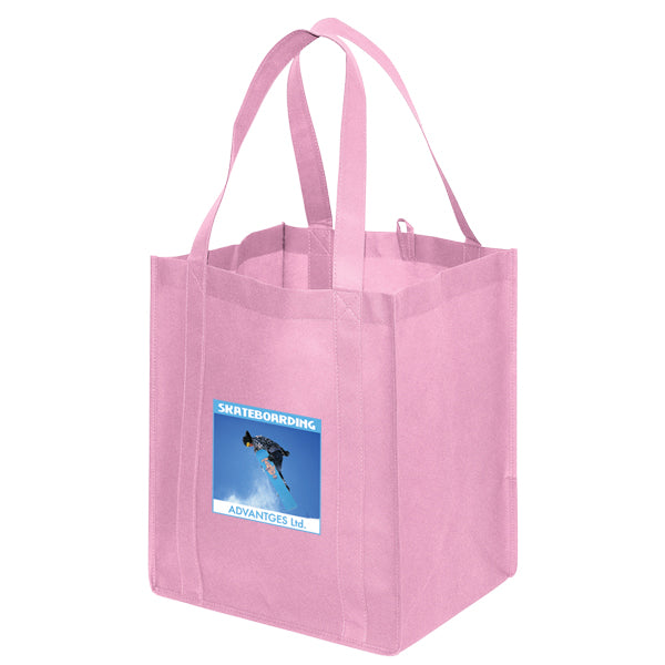 Jumbo Non Woven Shopping Pink Tote Bag