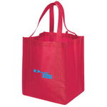 Jumbo Non Woven Shopping Red Tote Bag
