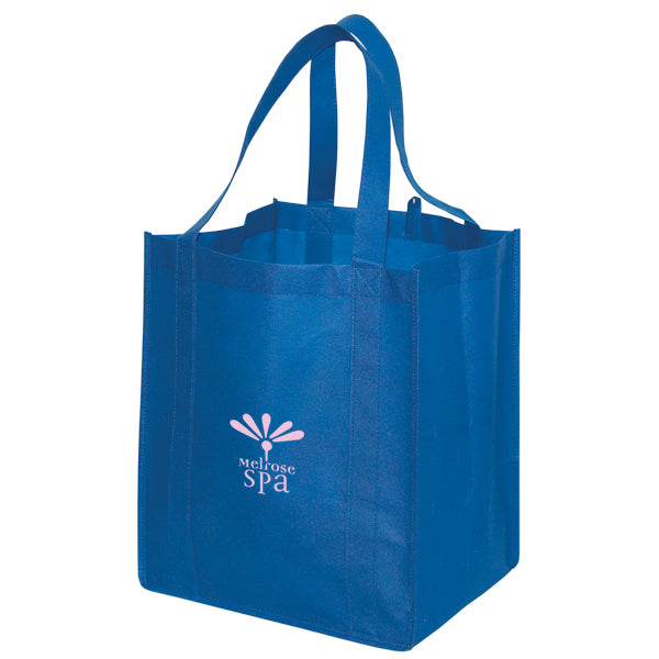 Jumbo Non Woven Shopping Royal Blue Tote Bag