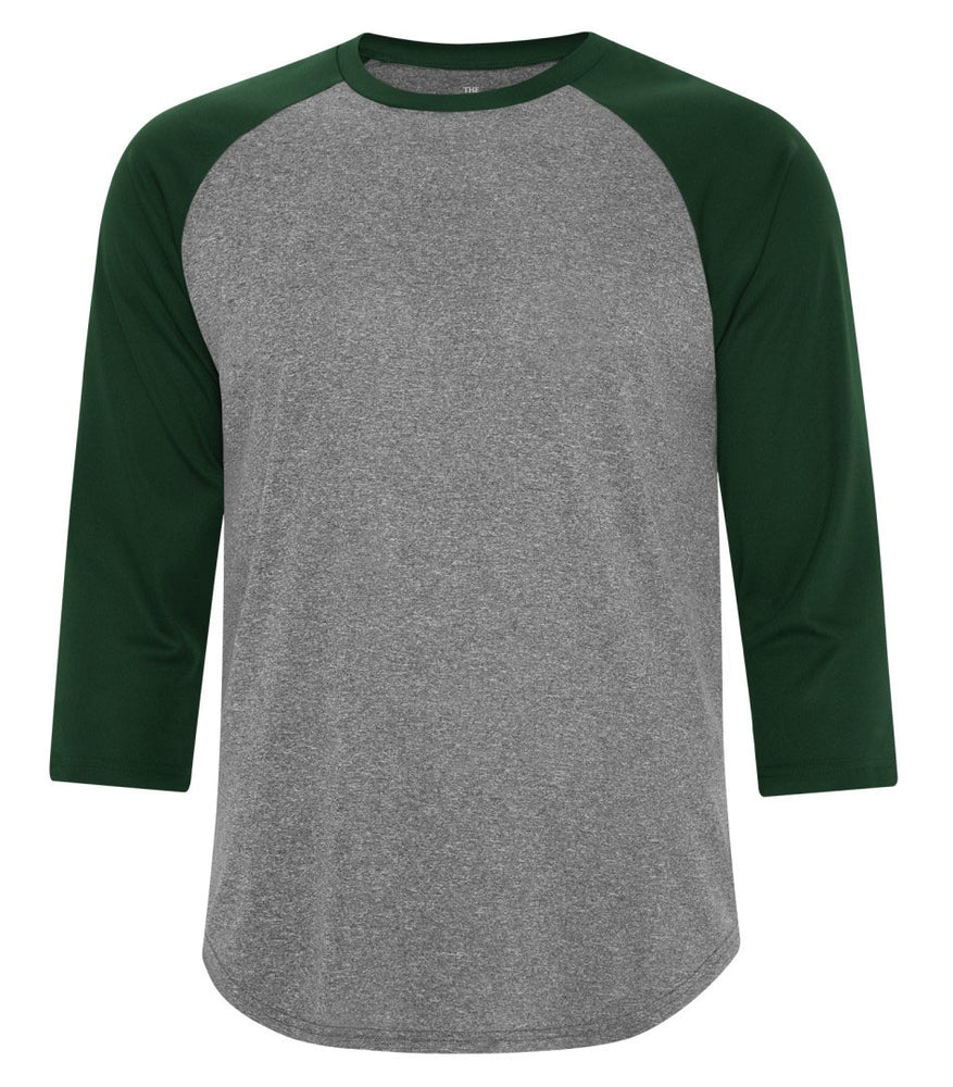 ATC Pro Team Baseball Jersey T-shirt - Heather Forest Green