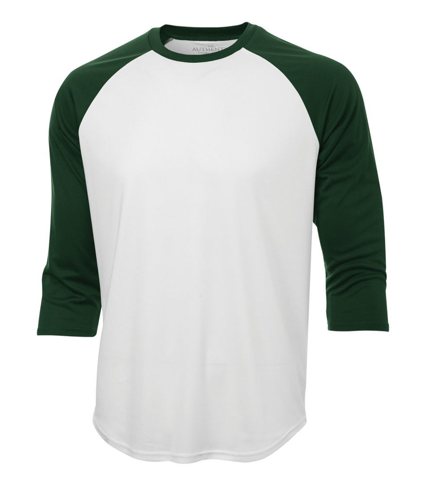 ATC Pro Team Baseball Jersey T-shirt  White & Forest Green