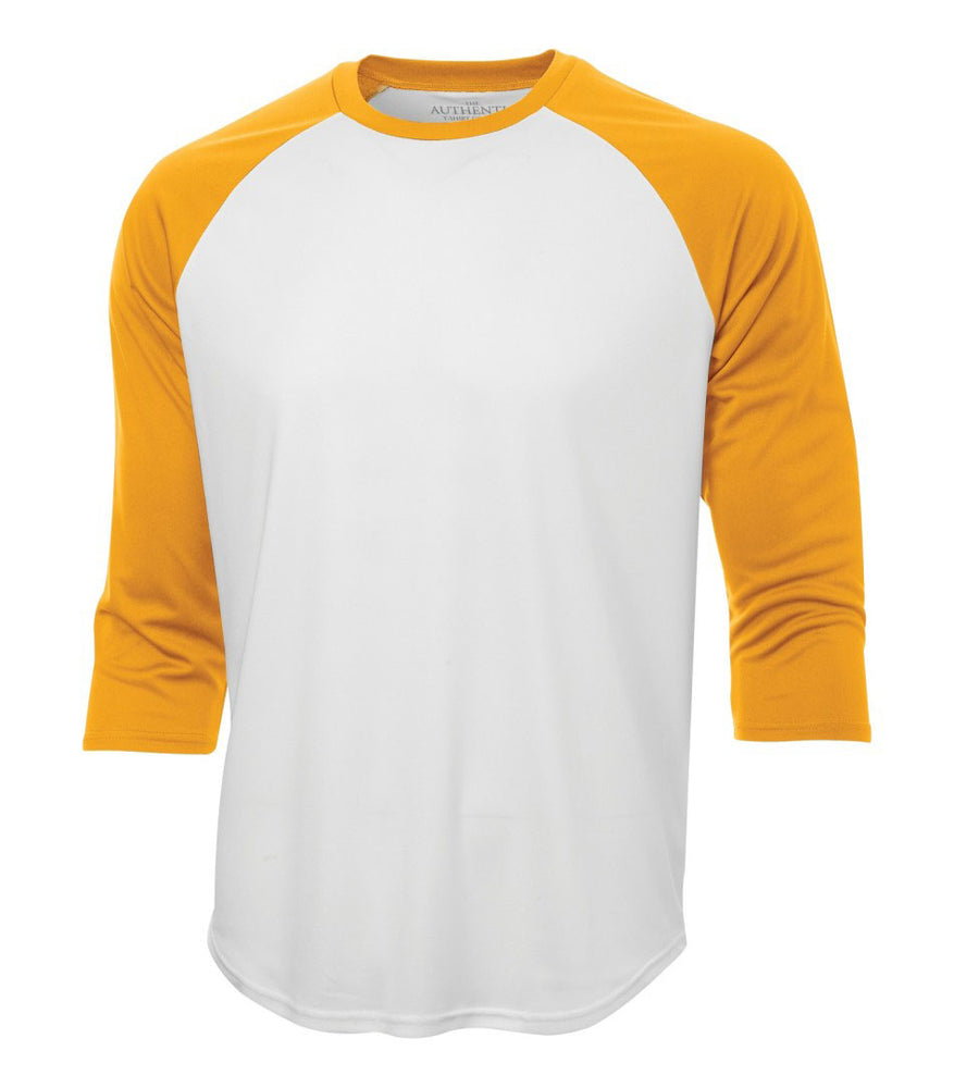 ATC Pro Team Baseball Jersey T-shirt  White & Gold