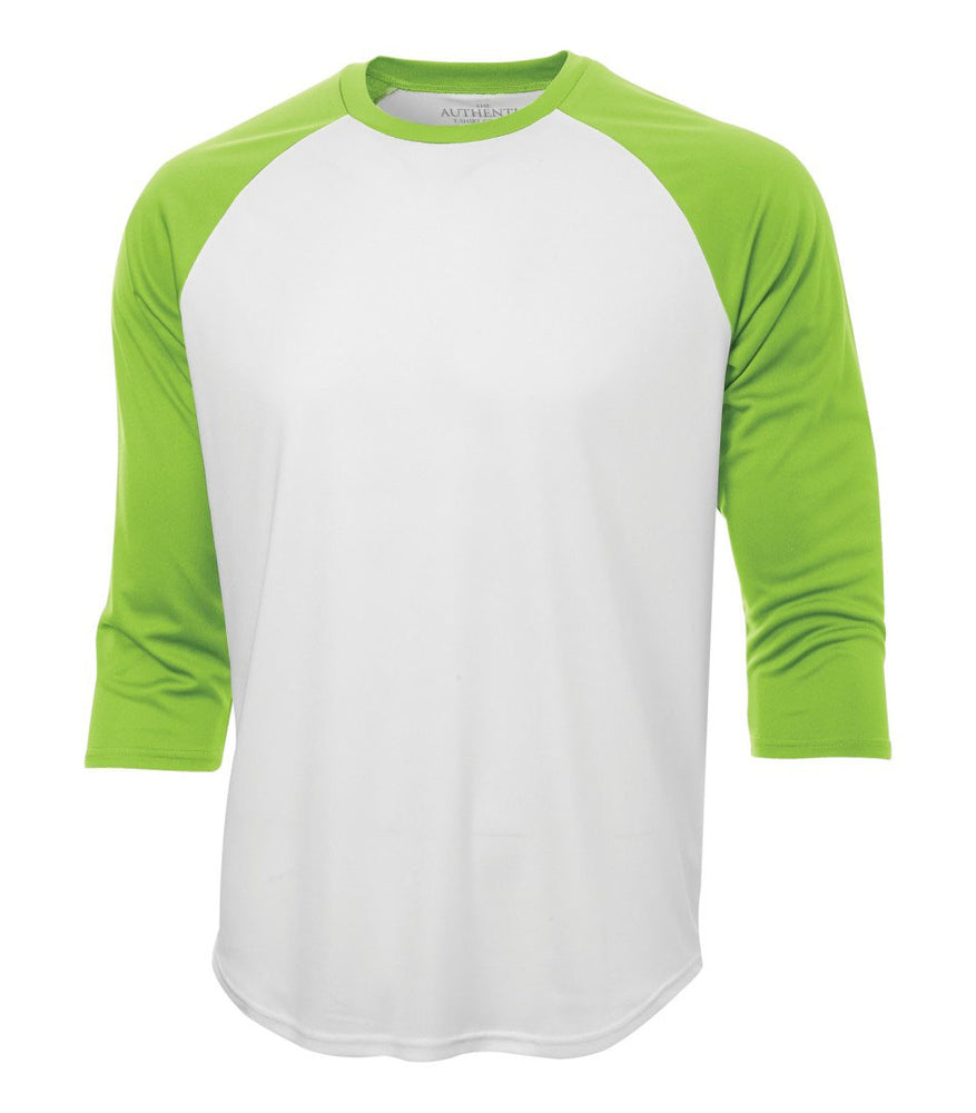 ATC Pro Team Baseball Jersey T-shirt . White - Lime