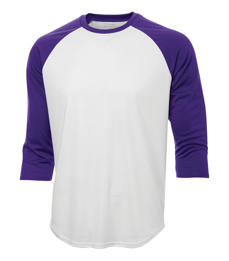 ATC Pro Team Baseball Jersey T-shirt   White Purple