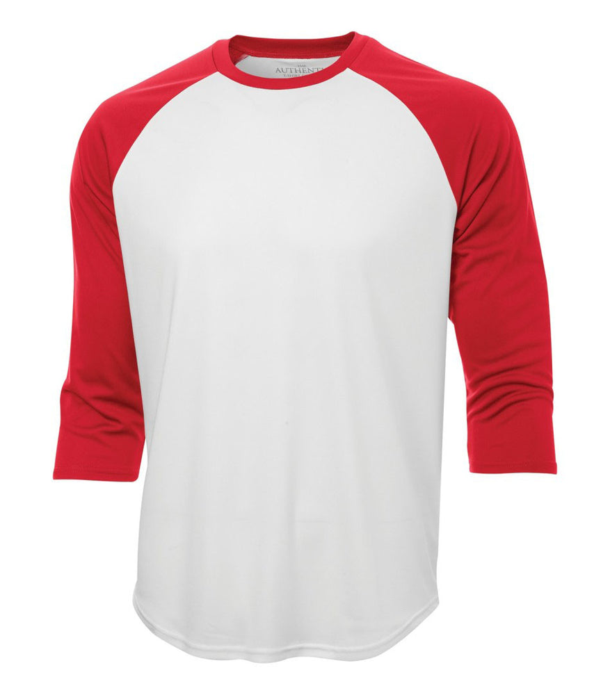 ATC Pro Team Baseball Jersey T-shirt . White  True Red